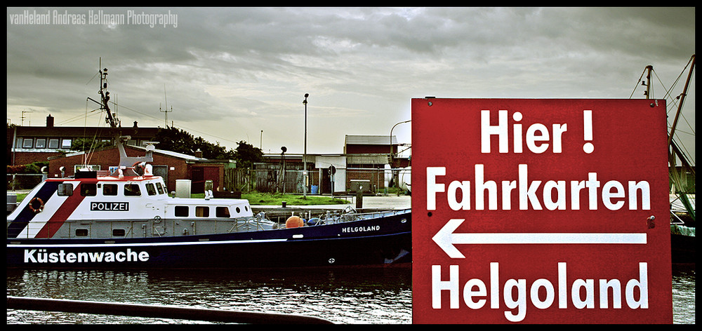Fahrkarten Helgoland