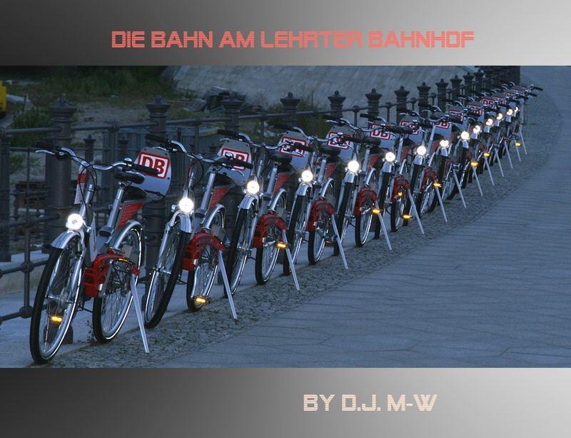 Fahrrad am Lehrter Bahnhof
