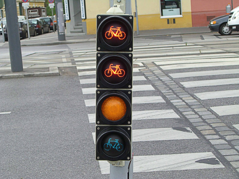 Fahrrad Ampel Next Generation Foto Bild Europe österreich