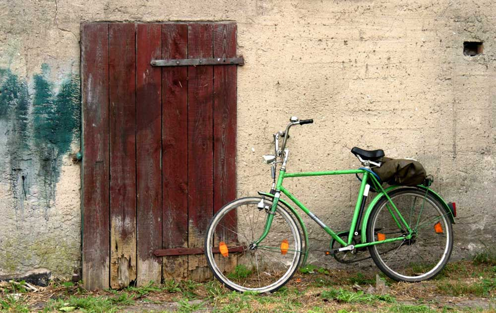 Fahrrad auf Usedom
