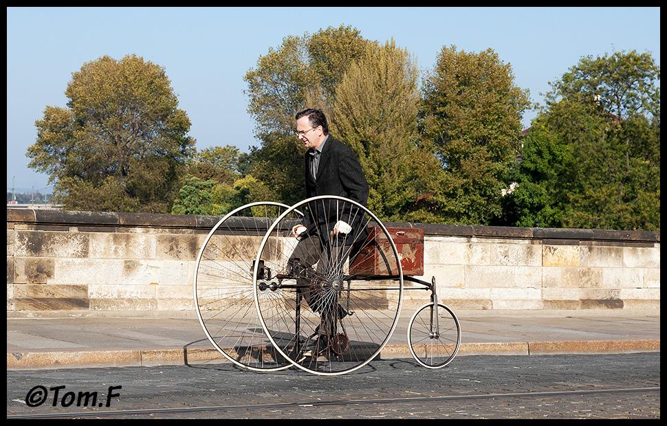 Fahrrad fahren anno 1883