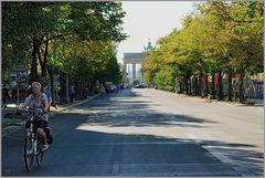Fahrrad fahren Unter-den-Linden.