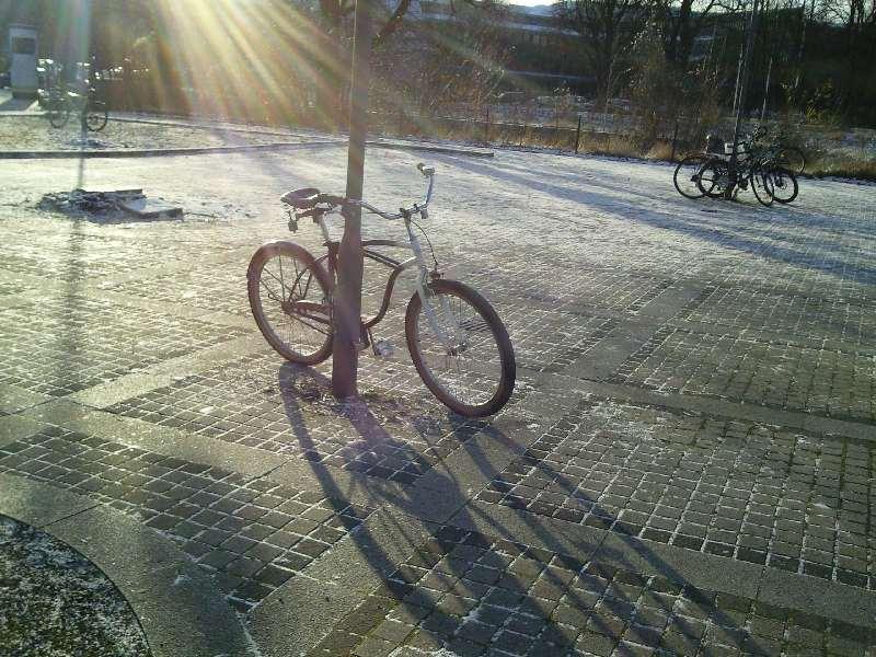 Fahrrad in Goslar