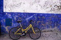 Fahrrad in Obidos