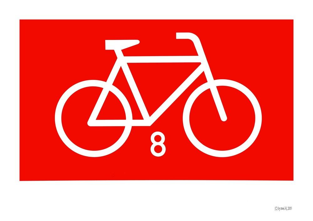 fahrrad nr 8 oder fahrrad f r 8 personen oder 8 fahrr der. Black Bedroom Furniture Sets. Home Design Ideas