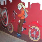 Fahrradgraffiti