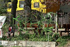 """""""Fahrradhecke""""..."""