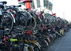 Fahrradparkplatz über 2 Etagen