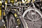 Fahrräder am Düsseldorfer HBF - Stahl deluxe