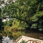 Fahrt auf dem Bentota-Fluß