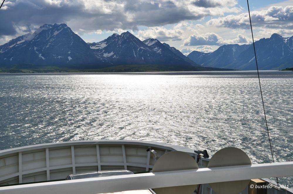 Fahrt auf dem Fjord 2