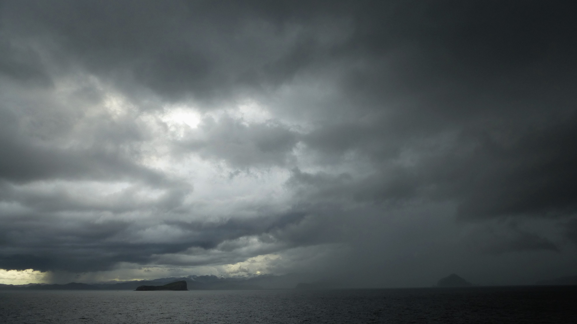 Fahrt ins Gewitter (Golf von Nicoya, Costa Rica)