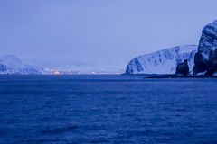 Fahrt nach Kjollefjord