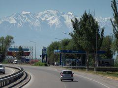 Fahrt vom Flughafen Bishkek