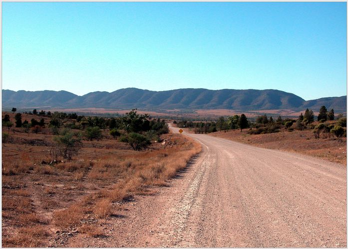 Fahrt zu den Flinders Ranges