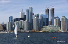 Fahrt zu Toronto Islands