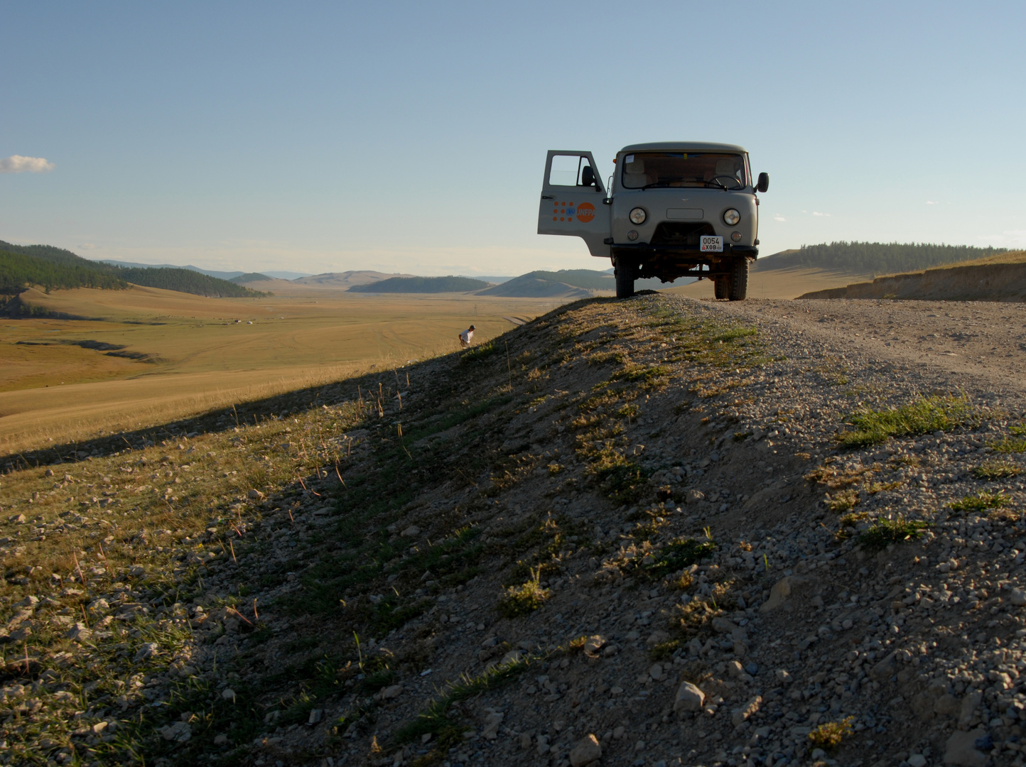 Fahrt zum Khövsgöl-See