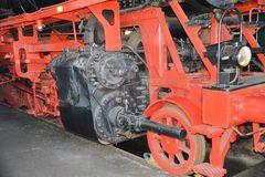 Fahrwerk der 50er im Lokschuppen Nördlingen (1)