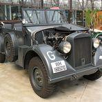 Fahrzeug der Deutschen Wehrmacht im Meilenwerk Düsseldorf