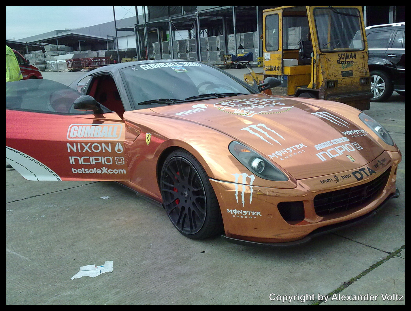 Fahrzeug for Gumball3000 2010