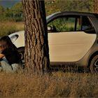 faire prendre l air à sa voiture ....