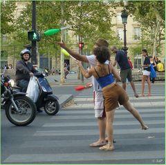 Faire sourire les Parisiens...