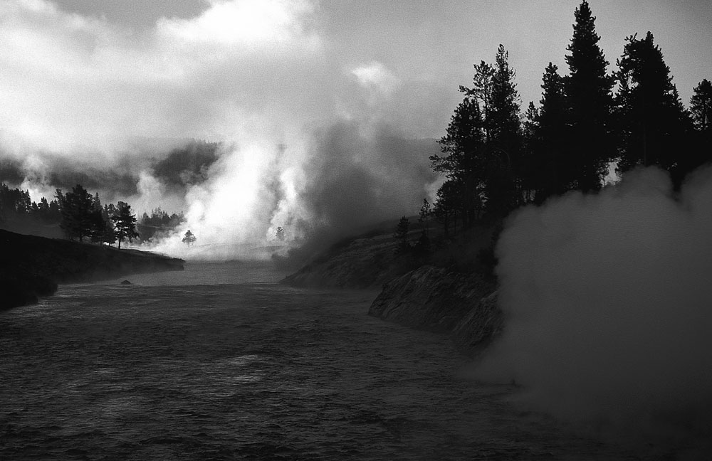 Fairy River, Yellowstone National Park