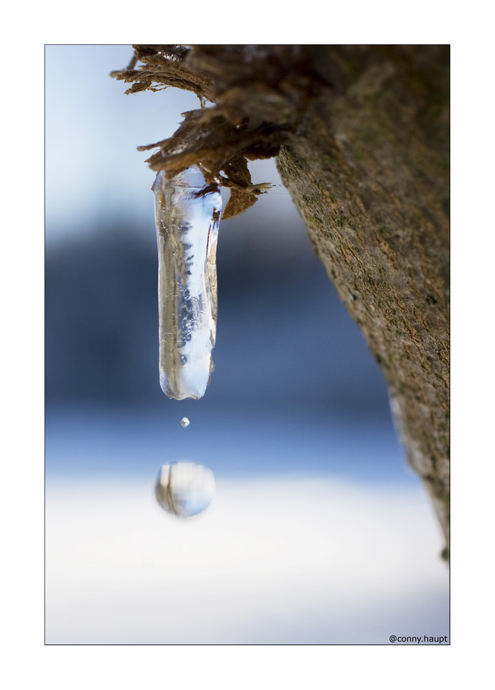 *falling drop*