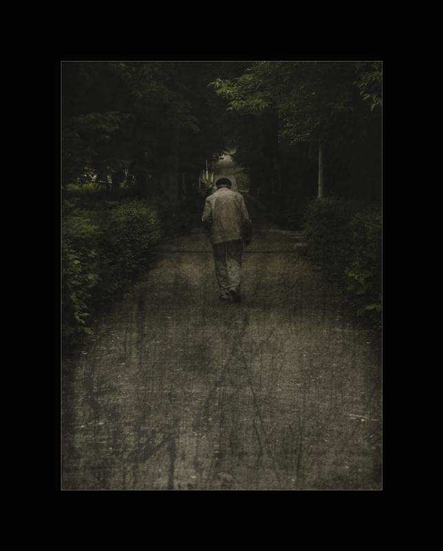 Falling in solitude ...