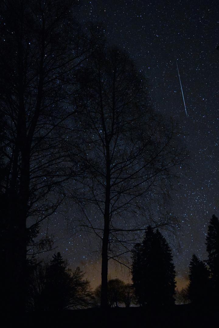 Falling Shooting Star