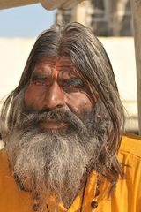 """ Falscher"" Sadhu in Udaipur"