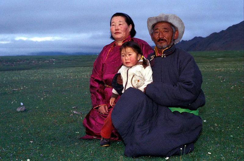 Famiglia in posa