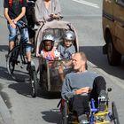 Familia original, sobre ruedas