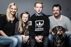 Familie und Hund I