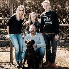 Familie und Hund III