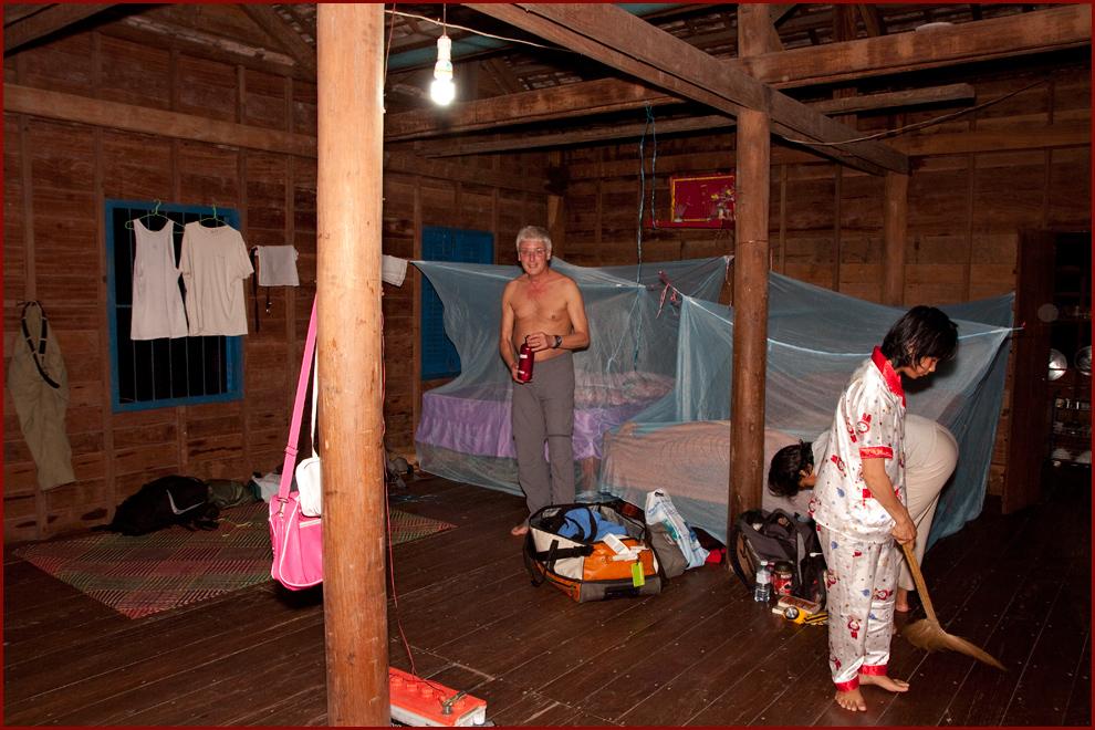 Familienanschluß in Cambodia- Der Abend
