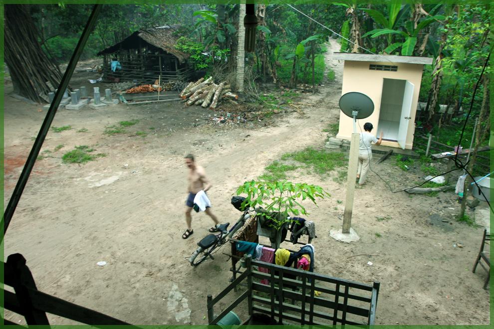 Familienanschluß in Cambodia- Der Morgen