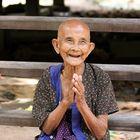 Familienanschluß in Cambodia- die Oma