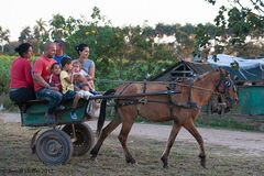 Familienausflug auf kubanisch