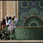 Familienausflug, Casablanca, Marokko