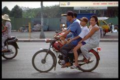 Familienausflug in Saigon