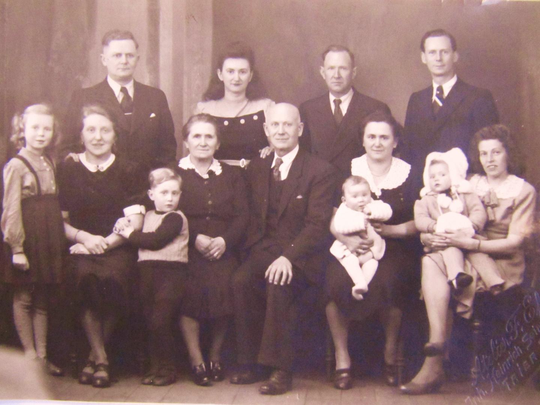 Familienfoto 1948