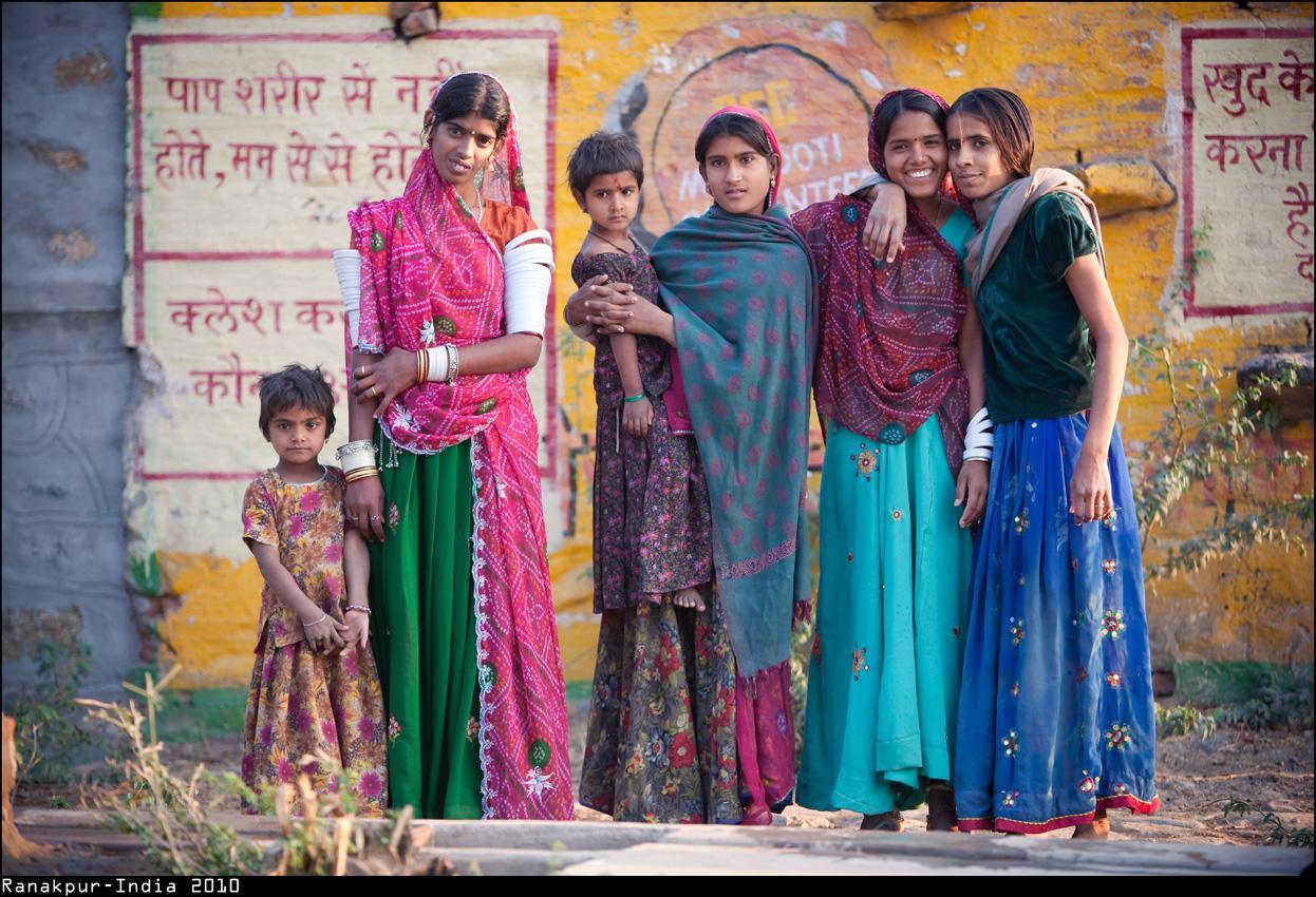 family portrait - India