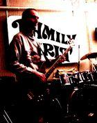 "FAMILY SPIRIT 70's pop rock band ""kriket"" bass man"