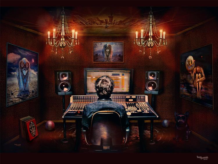 Fan Artwork Jean-Michel Jarre Studio