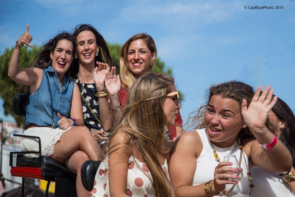 Fangruppe Joka in Chiclana (Chicas de Chiclana)