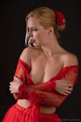 Fanny in red
