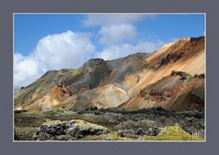 Fantaisie geologique islandaise