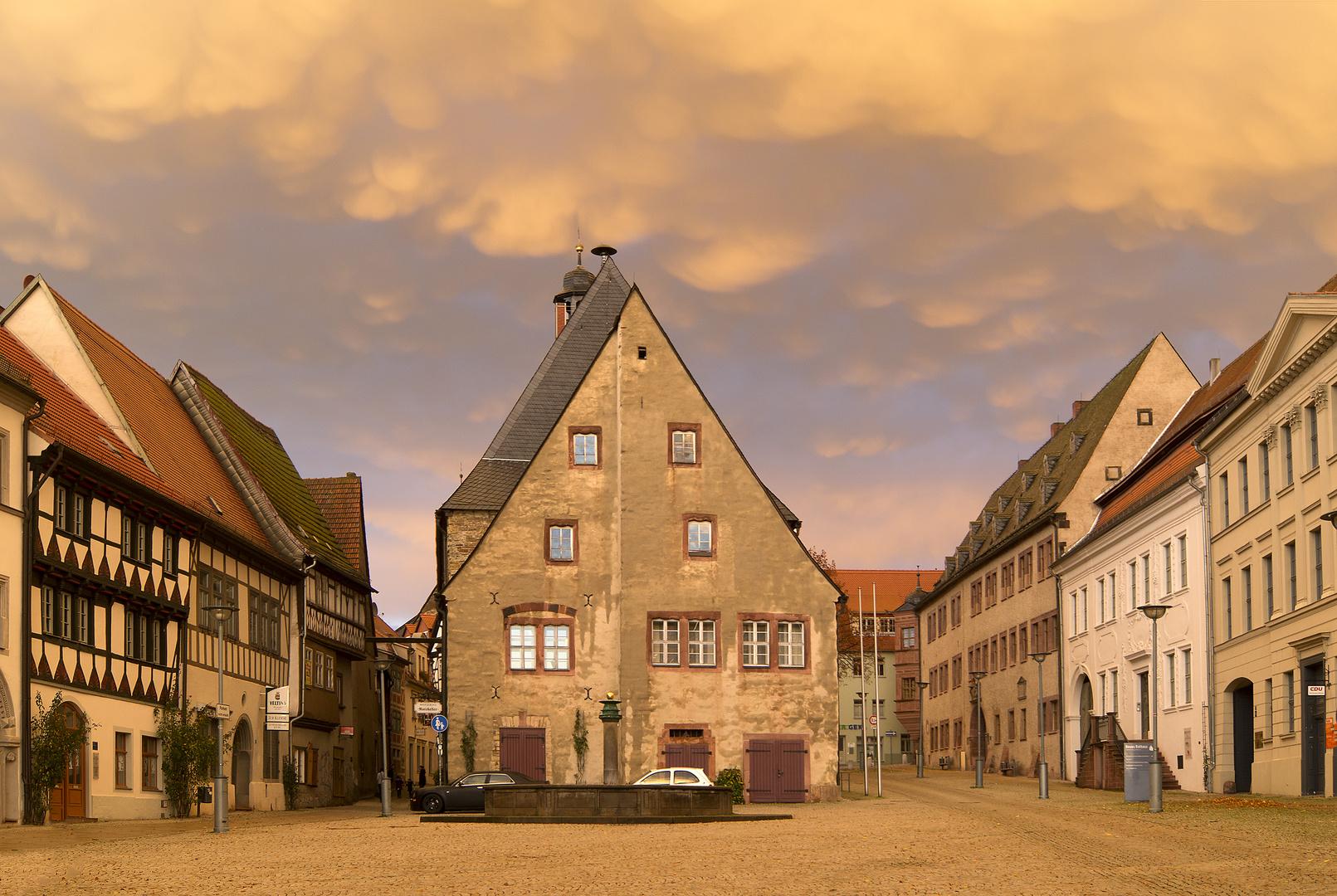 Fantastisches Licht in Sangerhausen