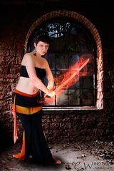Fantasy Schwertkämpferin
